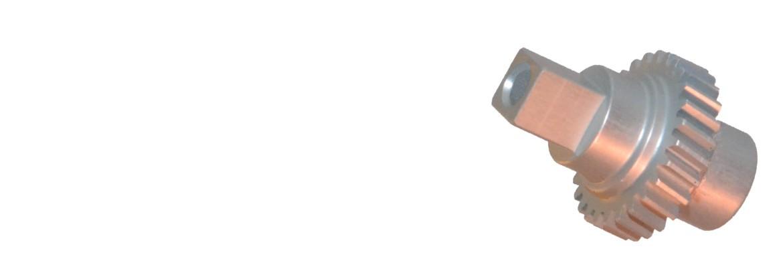 Aluminium Zahnrad